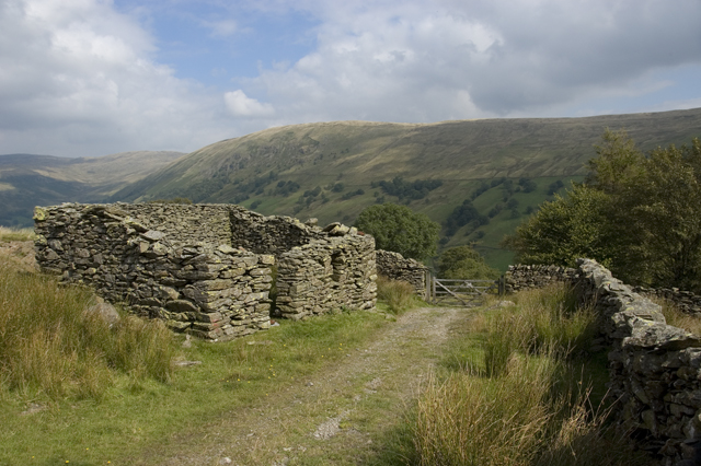 Barn on bridleway to Long Sleddale