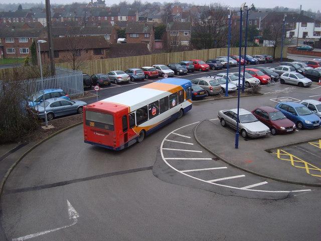Swinton Station Car Park