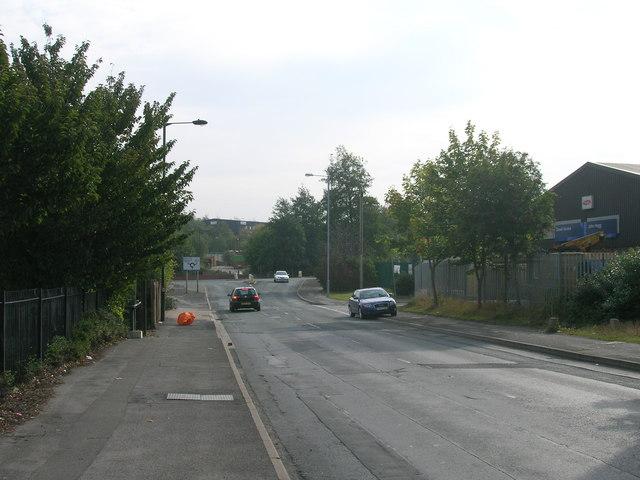 Cricket Inn Road, Sheffield heading east