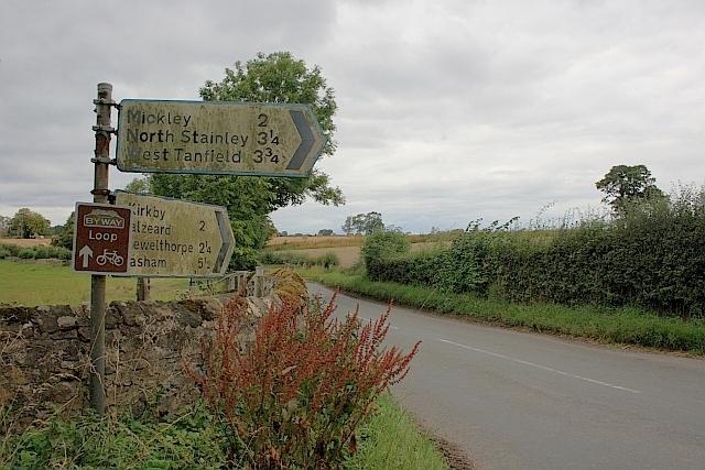Road to Kirkby Malzead