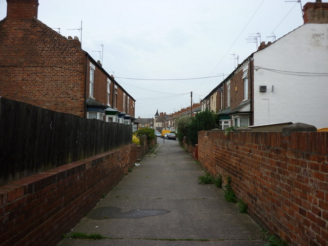 Suffolk Terrace off Worthing Street, Hull