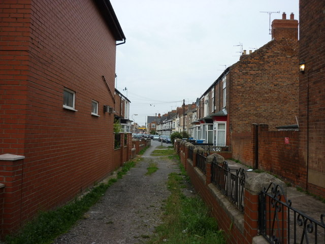 May Terrace off Worthing Street, Hull