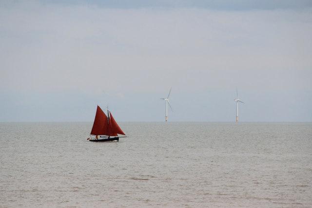 Sailing Boat, Clacton, Essex