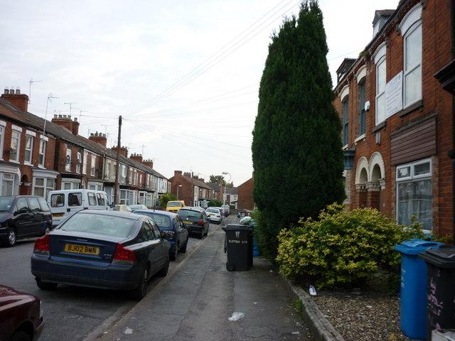 Suffolk Street off Beverley Road