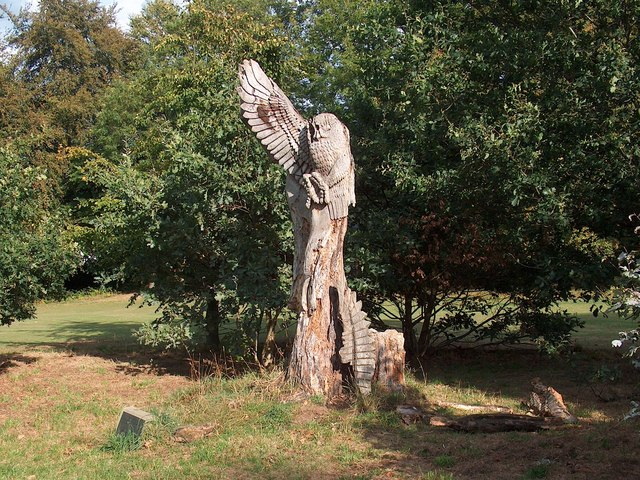 Chelsea Park, Sheffield - Carving by Jason Thomson (1998)