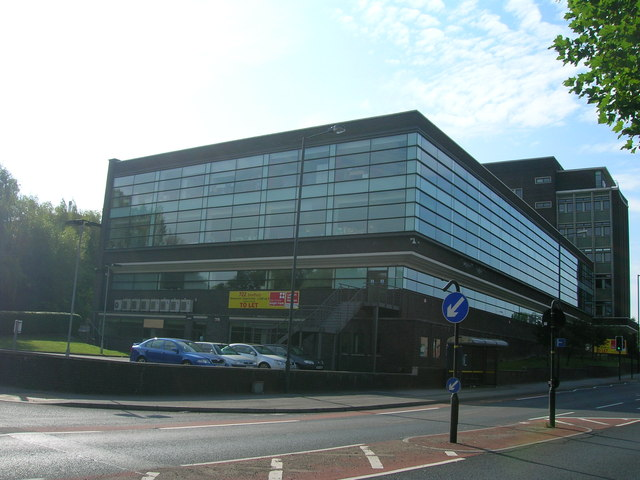 Office block, Prince of Wales Road