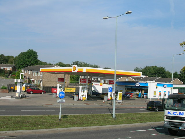 Service station on Greenland Road