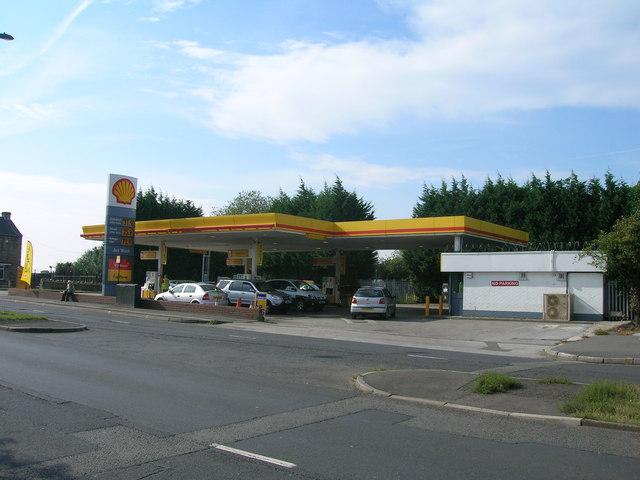 Service station on  Handsworth Road