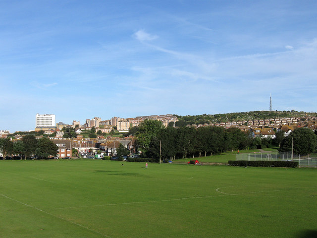 Football Pitches, East Brighton Park
