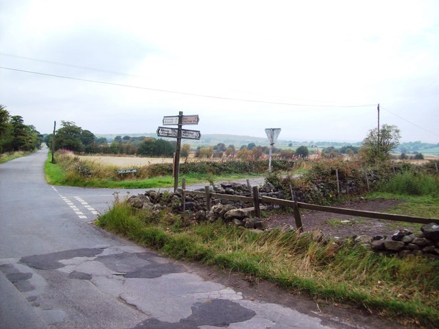 Road Junction to the West of Alton