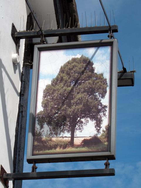 The Oak Tree sign