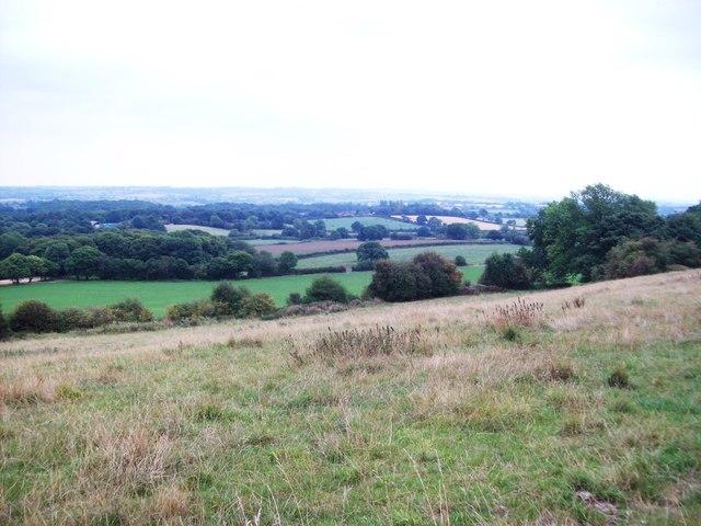 Overlooking Farmland and Moorspring Wood