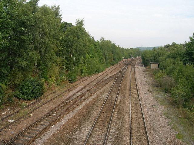 Railway towards Doncaster