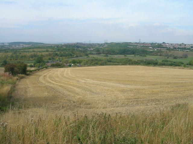 Farmland off Bole Hill
