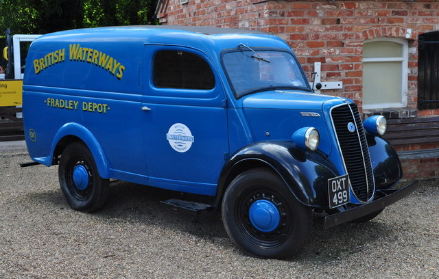 British Waterways Old Van