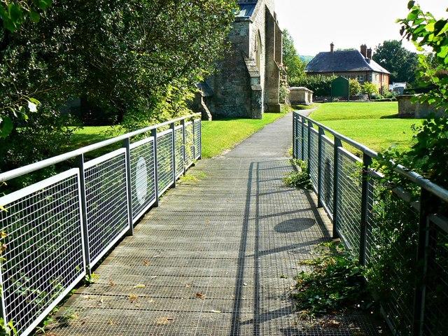Bridge over Church Lane, West Lavington