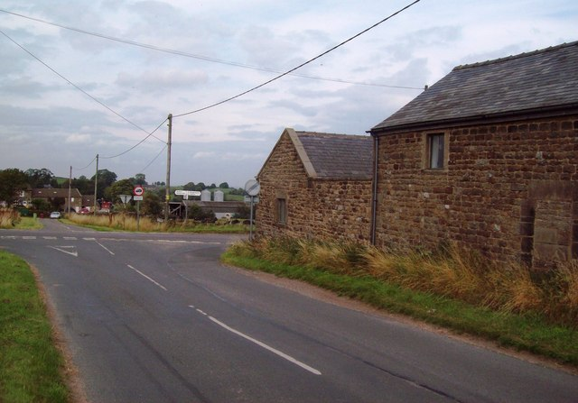 Crossroads near Sheaplea House