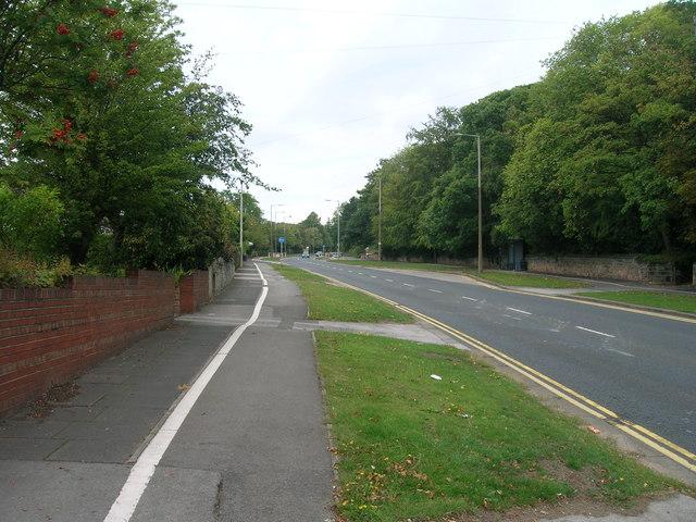 A618 towards Rotherham