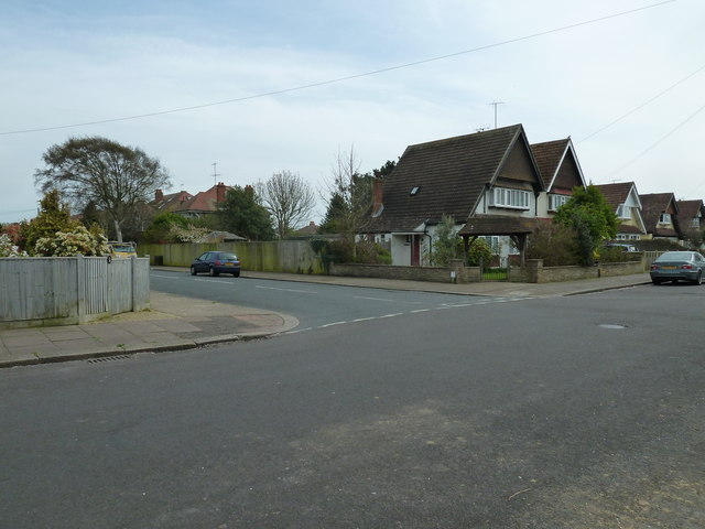 Junction of Woodmancote Road and Nutbourne Road