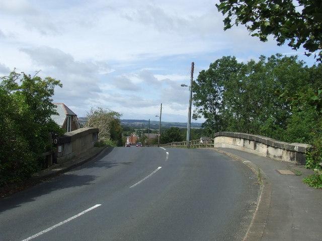 Station Road bridge, Leamside
