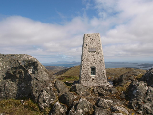 Trig Point Heaval Barra