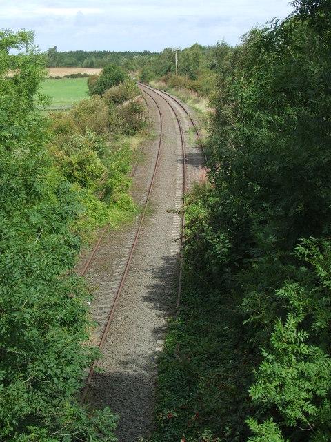 Disused railway, Leamside