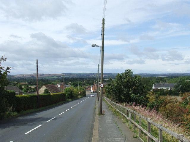 Station Road, Leamside