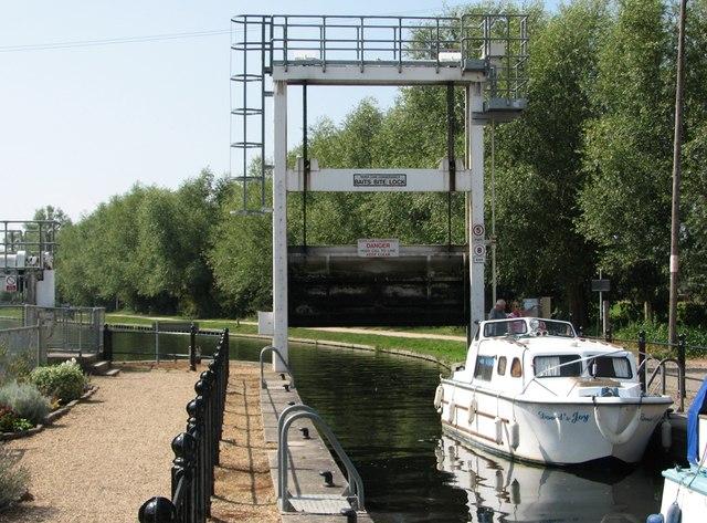 Baits Bite Lock: lowering the gate