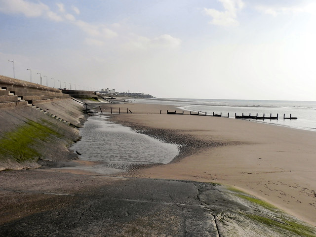 The Beach at Anchorsholme