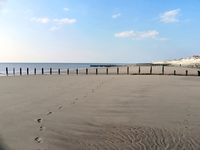 The Beach at Cleveleys