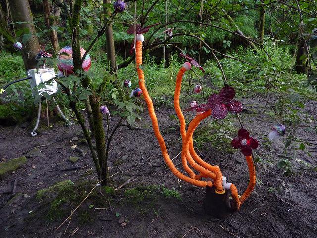 Sculpture in Colden Clough