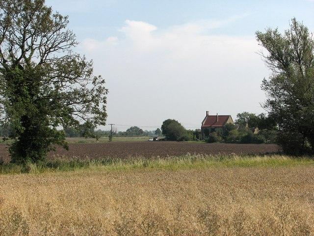Biggin Abbey from the riverside path