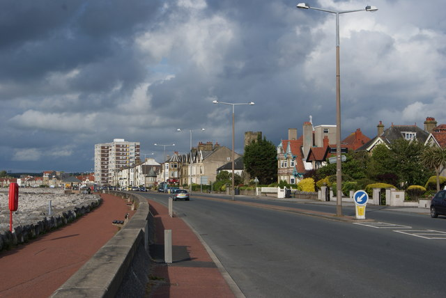 Marine Road East, Morecambe Seafront
