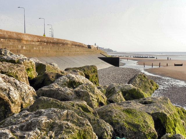 Sea Wall at Cleveleys