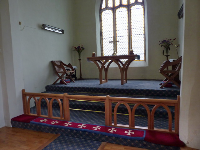 Holy Trinity Church, Feetham, Altar