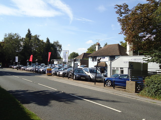 Car dealer, Guildford Road, East Horsley