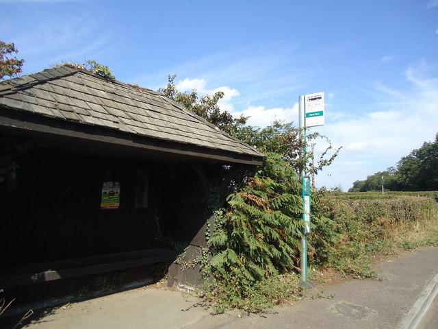 Manor Farm bus stop, Guildford Road, near Wotton