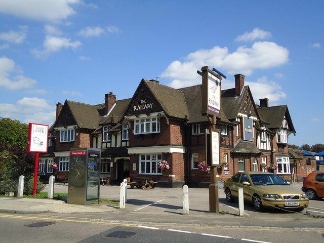 The Railway public house, Greenford