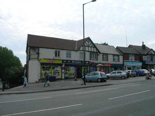 Shops on Doncaster Road