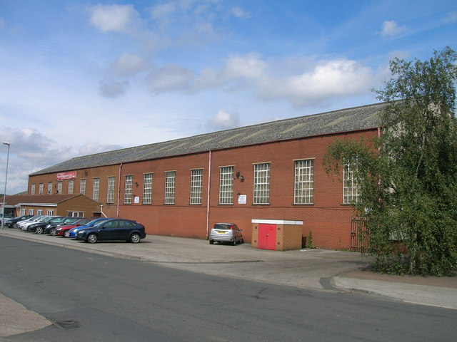 Industrial unit, Chesterton Road, Rotherham
