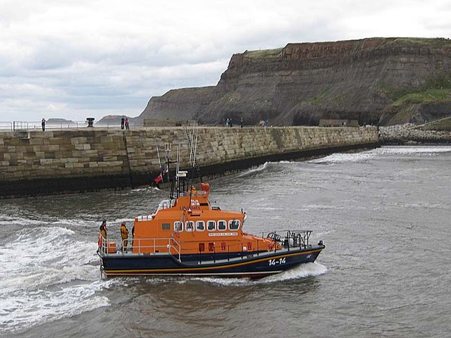 Whitby lifeboat - George and Mary Webb