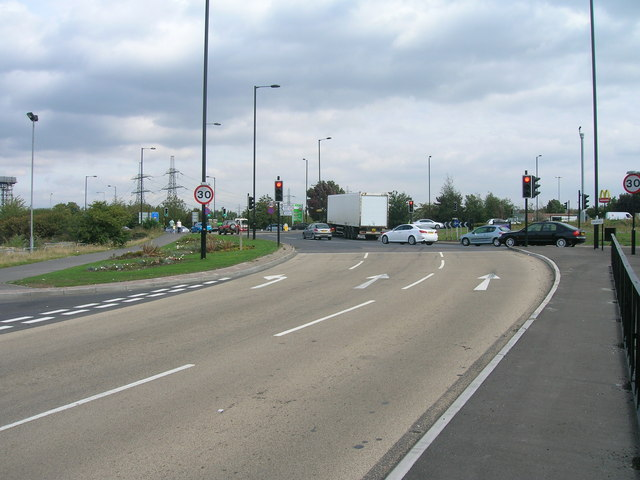 A630 towards Doncaster