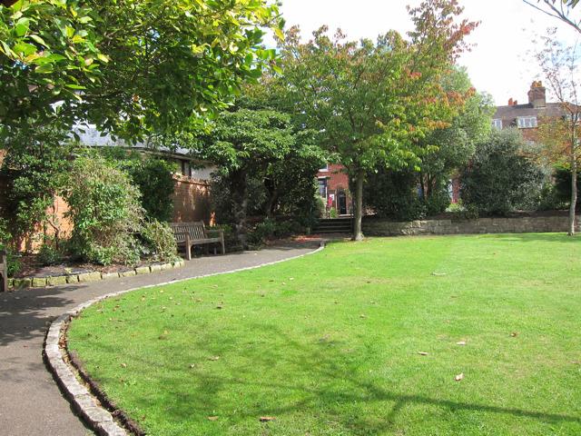 Garden off High Street