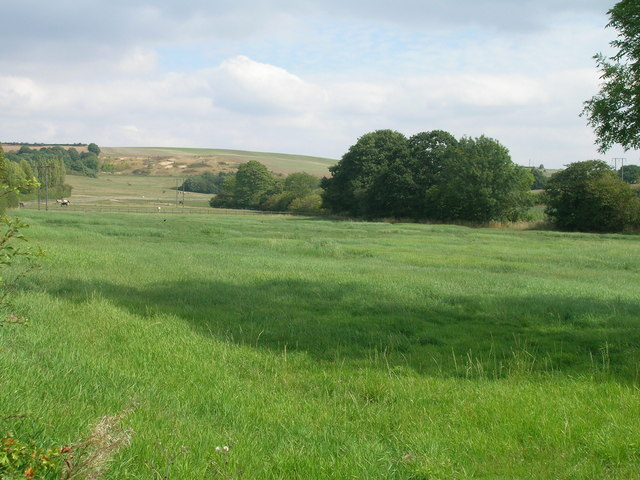 Farmland near Whiston
