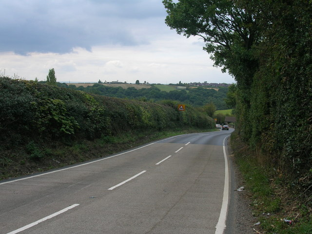 Hill Top Lane towards Dalton Magna