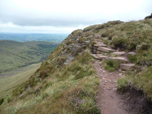 Path on Craig Cwareli