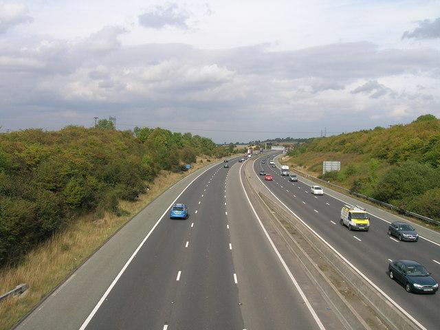 M18 eastbound