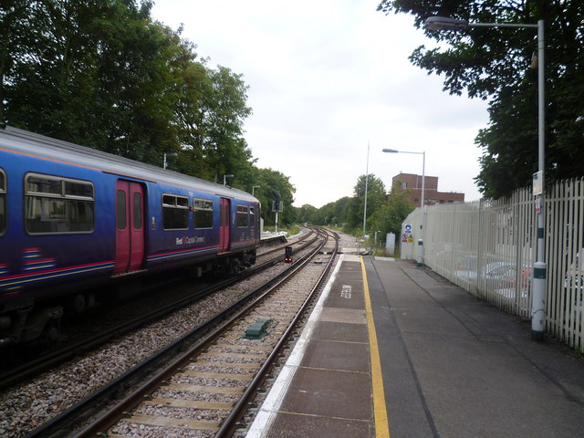 First Capital Connect train at Streatham station