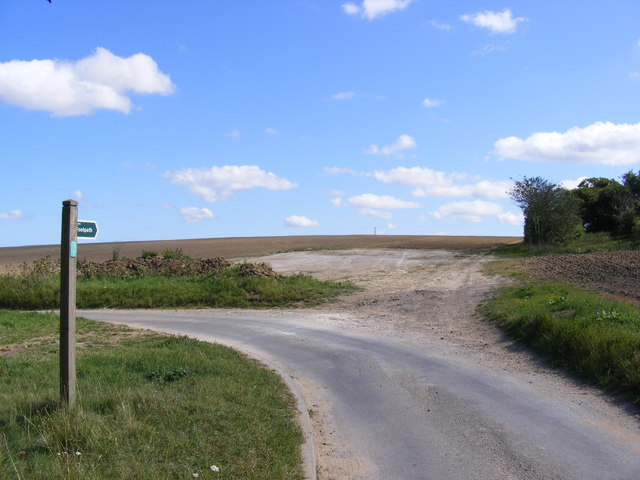 Footpath to the B1078