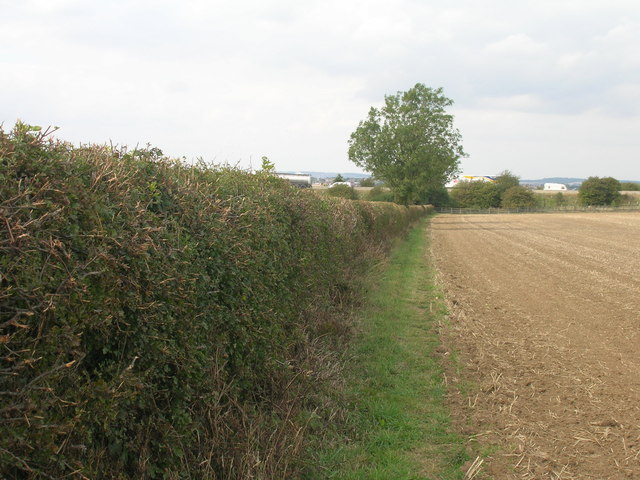 Footpath towards the M18